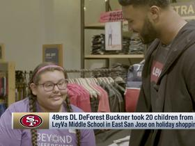 DeForest Buckner takes students on a holiday shopping spree