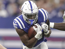 Reggie Bush's formula for Colts win vs. Giants: 'Get Marlon Mack more involved'