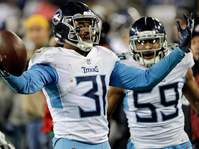 Kevin Byard makes critical interception in Titans' territory