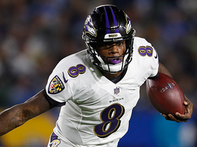 Lamar Jackson passes Philip Rivers' career rushing yards with big gain