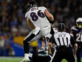 Nick Boyle delivers EPIC hurdle vs. Chargers