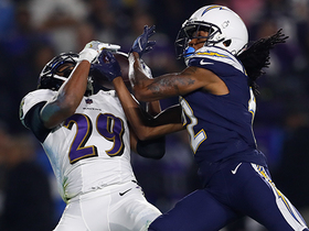 Rivers' deep pass gets picked off to seal Ravens' road win