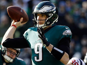 Foles finds diving Ertz for third-down conversion