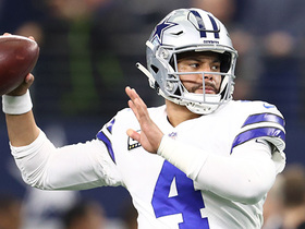 Dak dissects two Bucs on 31-yard pass to Gallup