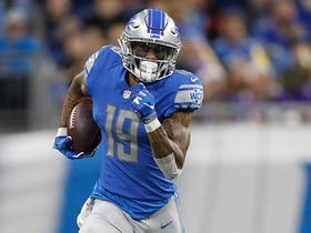 Golladay slides toes for sideline catch
