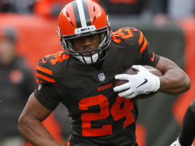 Chubb shows great vision on 20-yard cutback run