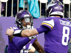 Cousins tosses perfect pass to Diggs for easy TD