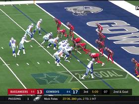 JPP sniffs out Dak's toss to Cooper for 7-yard loss