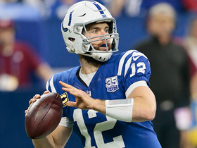 Luck rips it to Rogers for game-tying TD