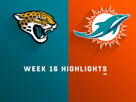 Jaguars vs. Dolphins highlights | Week 16