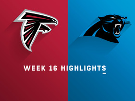 Falcons vs. Panthers highlights | Week 16