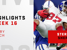 Every Sterling Shepard catch from his 113-yard day | Week 16