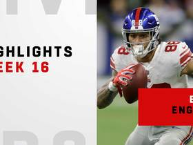 Every touch from Evan Engram's 113-yard day | Week 16