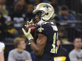 Michael Thomas sprints for 28-yard gain on catch