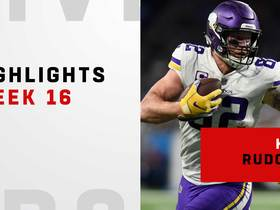 Best catches from Kyle Rudolph's big day | Week 16