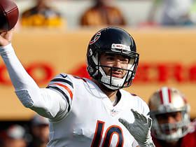 Trubisky delivers perfect strike to Miller for goal-line TD