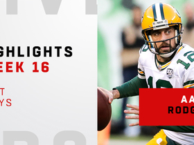 Rodgers' best throws from 474-yard day vs. NYJ | Week 16