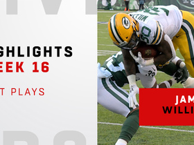 Best plays from Jamaal Williams 156-yard day | Week 16