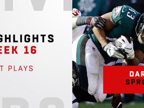 Best plays from Darren Sproles' 108-yard game | Week 16