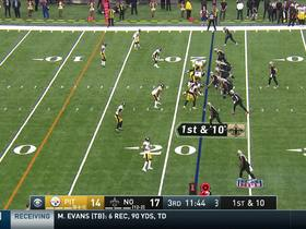 Brees slaps down would-be INT on tipped pass