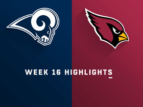 Rams vs. Cardinals highlights | Week 16