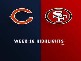 Bears vs. 49ers highlights | Week 16