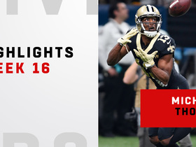 Every Michael Thomas catch from his 109-yard day | Week 16