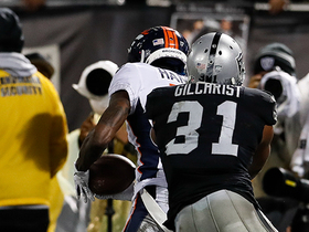 DaeSean Hamilton beats Raiders' secondary for Broncos' first TD