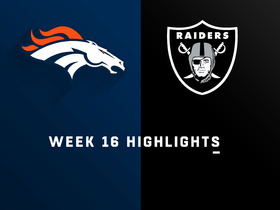 Broncos vs. Raiders highlights | Week 16