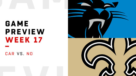 Panthers vs. Saints Week 17 preview | NFL Playbook - NFL ...