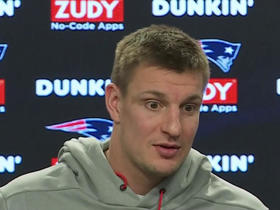 Gronk: Retirement is 'the last thing' on my mind right now