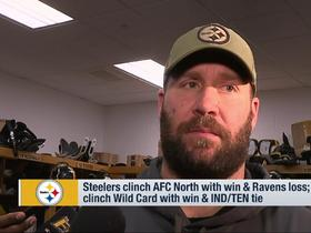 Big Ben on Browns-Ravens: 'I assume it will be on the scoreboard'
