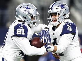 Slater outlines expected playing time for Elliott, Prescott in Week 17