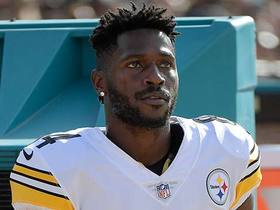 Will Antonio Brown be playing today?