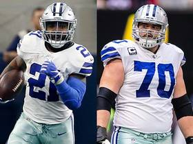 Slater: Ezekiel Elliott and Zack Martin not expected to play vs. Giants