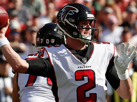 Matt Ryan somehow completes pass while falling