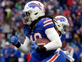 Tremaine Edmunds hauls in one-handed INT of Ryan Tannehill