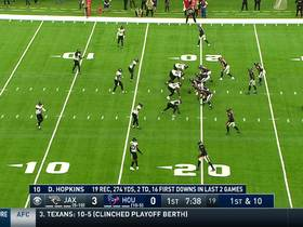Lamar Miller turns on boosters for 14-yard run