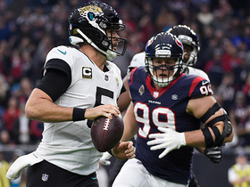 Bortles can't escape Watt, gets sacked for an 8-yard loss