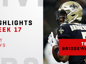 Best plays from Teddy Bridgewater's first start with Saints | Week 17