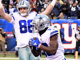 Prescott spots Gallup for game-winning two-point conversion
