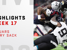 Every Jaguars sack against the Texans | Week 17