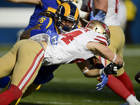 Rams recover Juszczyk's fumble on first-down extension