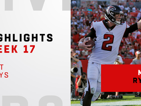 Best plays from Matt Ryan's 378-yard day | Week 17
