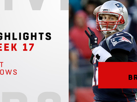 Best throws from Tom Brady's 4 TD game | Week 17