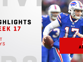 Best plays from Josh Allen's 5-TD day | Week 17