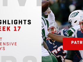 Best defensive plays from Patriots' dominant defensive win | Week 17