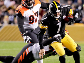 Bengals' D ambushes Big Ben for sack