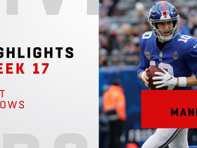 Best throws from Eli Manning's 301-yard day | Week 17