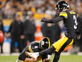 Matt McCrane puts Steelers on board with 39-yard FG
